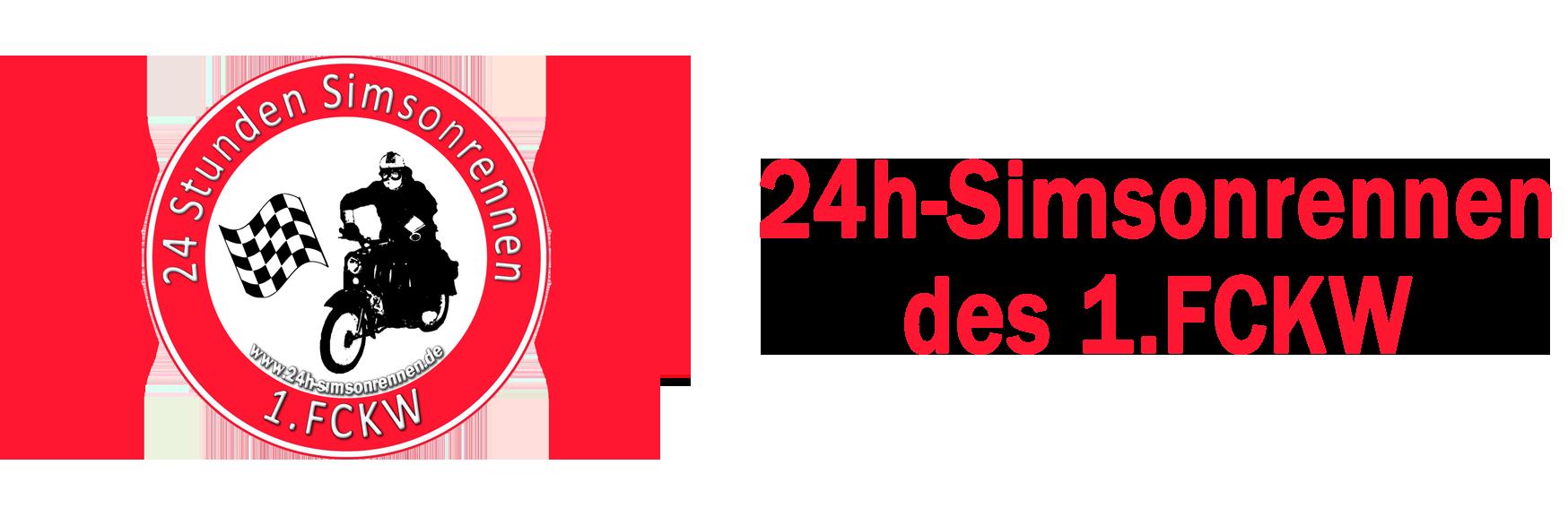 24 Stunden Simsonrennen - Das Original des 1.FCKW zum 7. Mal